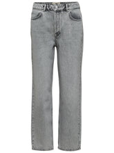 Load image into Gallery viewer, Selected Femme - High Waist Straight Fit Jeans Grey Denim