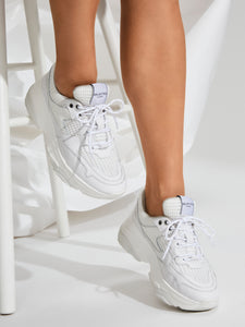 Selected Femme - Chunky Trainers White