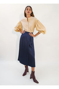 Emin & Paul - Navy Maxi Skirt