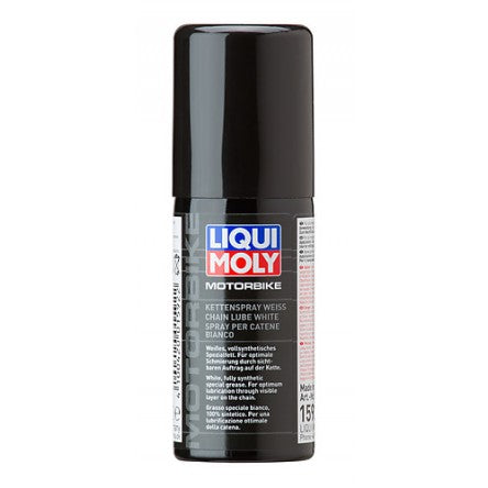 Liqui Moly Fully Synthetic White Chain Lubricant Spray 50ml