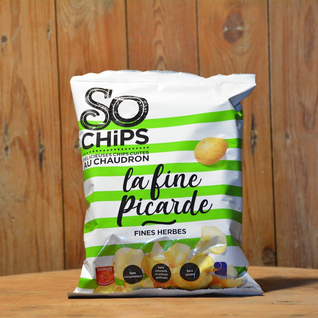 Chips Artisanale Fines Herbes 125g