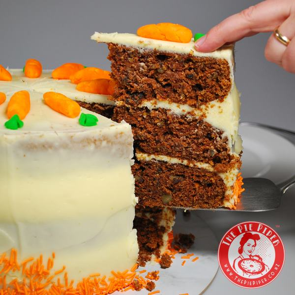 Piper's Triple Layer Carrot Cake