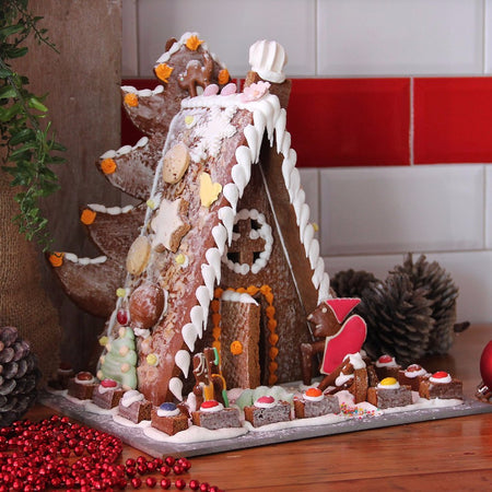 Cara's Christmas Gingerbread House