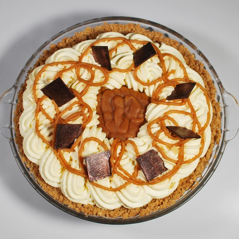 Banoffee Cream Deep Dish Pie