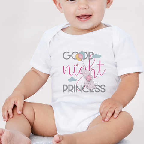 Body neonato GOOD NIGHT PRINCESS