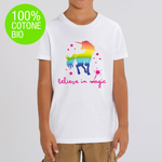 T-shirt BAMBINO BELIEVE IN MAGIC