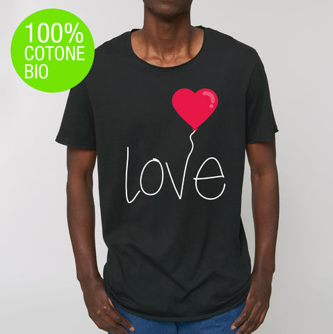T-shirt UOMO SKATER LOVE