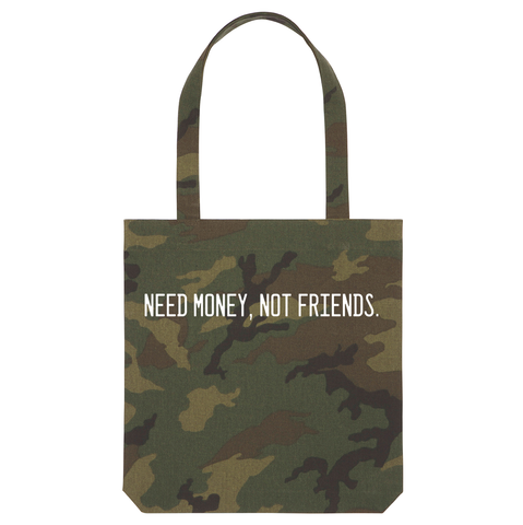 TOTE BAG NEED MONEY