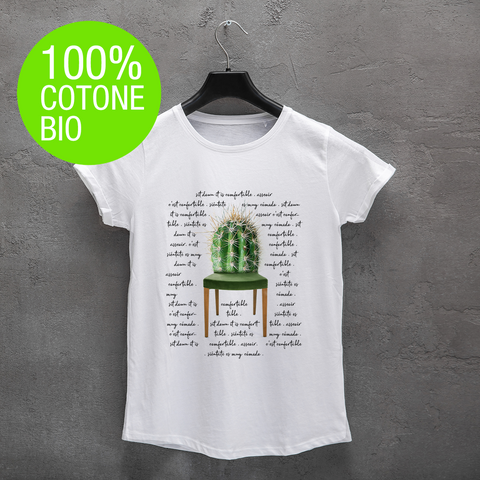 T-shirt DONNA CACTUS CHAIR