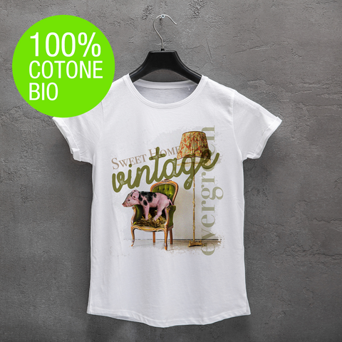T-shirt DONNA SWEET HOME