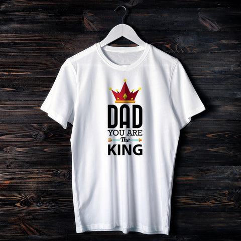 T-shirt UOMO DAD YOU ARE THE KING