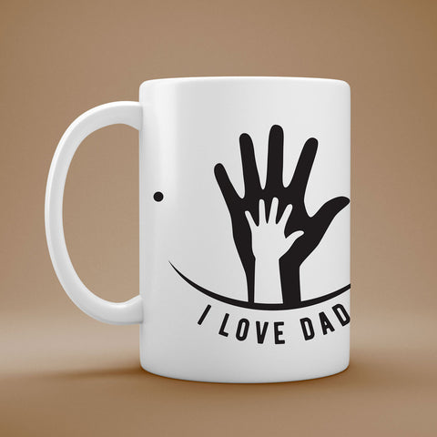 Tazza I LOVE DAD