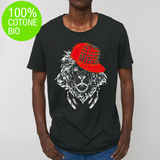 T-shirt UOMO SKATER LION MUSIC