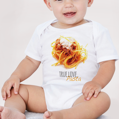 Body neonato TRUE LOVE PASTA