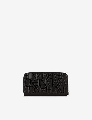 ARMANI EXCHANGE DONNA - WOMAN'S WRISTLET ROUCALICO - NERO