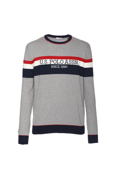 US POLO ASSN. - TRICOLOR STRIPE KNIT - CODICE NUMERICO