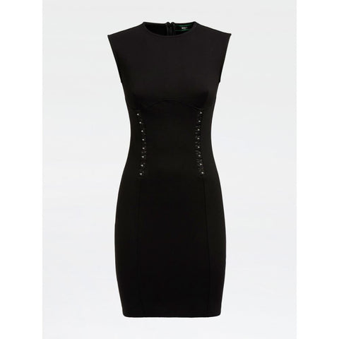 GUESS DONNA - YSABEL DRESS - NERO