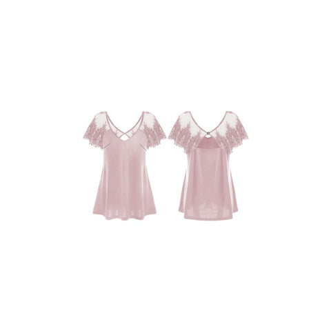 GUESS DONNA - SS ILIA TOP - ROSA