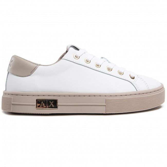 ARMANI EXCHANGE DONNA - SNEAKER - BIANCO