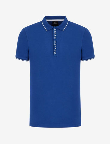 ARMANI EXCHANGE UOMO - POLO - BLUETTE