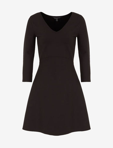ARMANI EXCHANGE DONNA - DRESS - NERO
