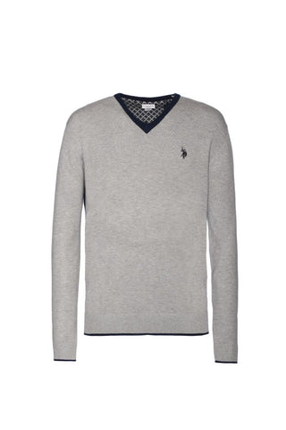 US POLO ASSN. - LARS V NECK KNIT - CODICE NUMERICO