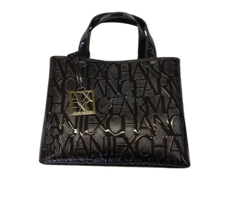 ARMANI EXCHANGE DONNA - WOMAN'S SMALL OPEN SCALICO - NERO