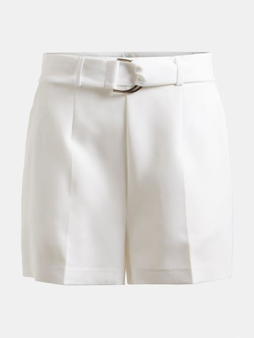 GUESS DONNA - NEW SUZY SHORTS - BIANCO