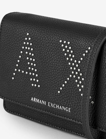 ARMANI EXCHANGE DONNA - 16-LEATHER GOODS - NERO