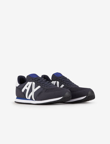 ARMANI EXCHANGE UOMO - 14-SHOES - BLU/BIANCO