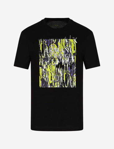 ARMANI EXCHANGE UOMO - T-SHIRT - NERO