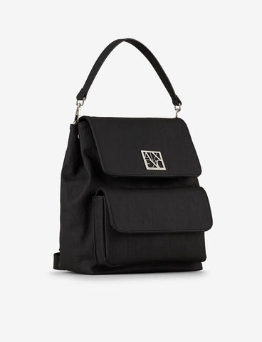 ARMANI EXCHANGE DONNA - WOMAN'S BACKPACK    ARMANI - NERO