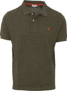 US POLO ASSN. - ISTITUTIONAL POLO - VERDE MILITARE