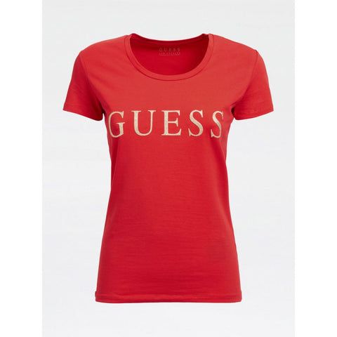 GUESS DONNA - SS RN ANGELIKA TEE - CODICE NUMERICO