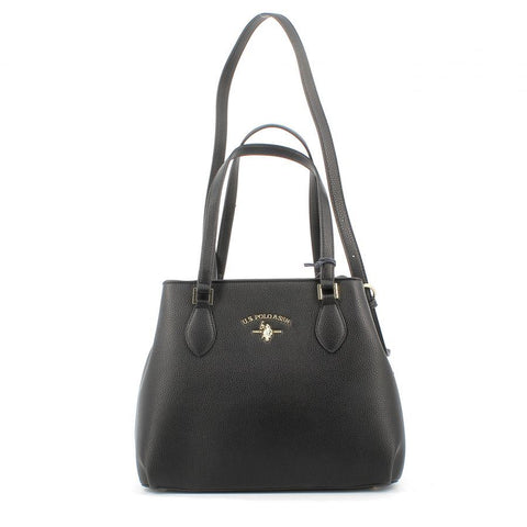 U.S. POLO ASSN BORSE/ACCESSORI - Stanford S Shopping PU Black - UNICO
