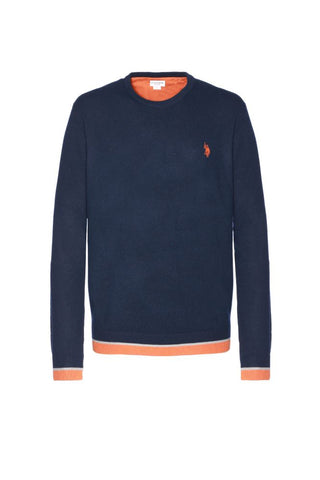 US POLO ASSN. - ALF NECK ROUND KNIT - CODICE NUMERICO