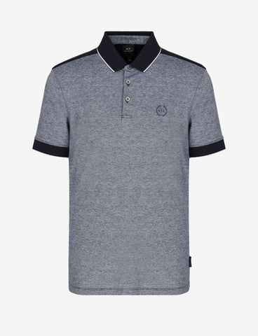 ARMANI EXCHANGE UOMO - POLO - BLU