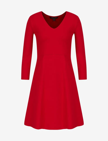 ARMANI EXCHANGE DONNA - DRESS - ROSSO