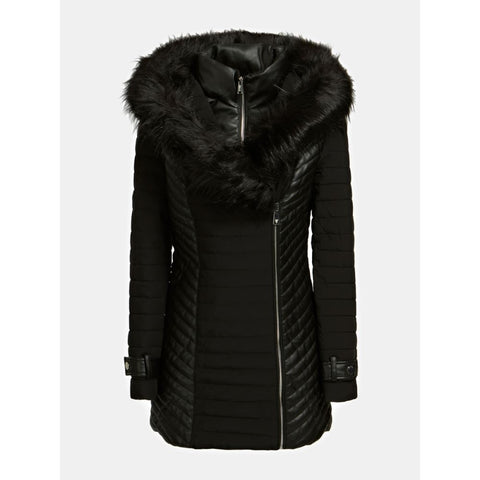GUESS DONNA - NEW OXANA JACKET - NERO