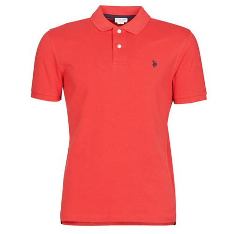 US POLO ASSN. - INSTITUTIONAL POLO - ROSSO