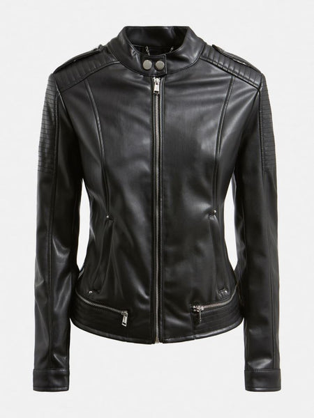 GUESS DONNA - NEW TAMMY JACKET - NERO