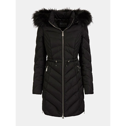 GUESS DONNA - CHERYL DOWN JACKET - NERO