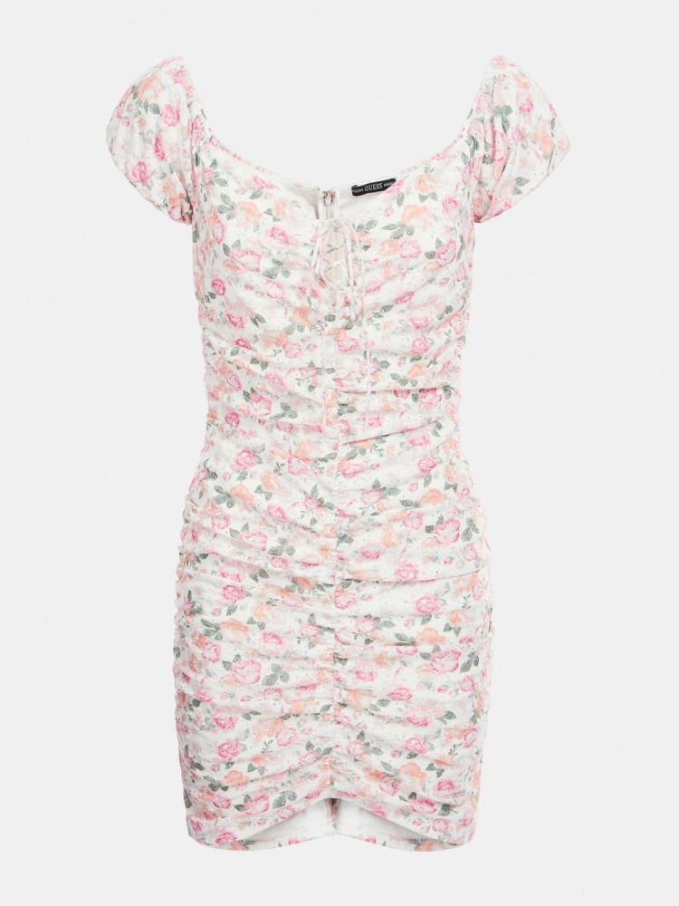 GUESS DONNA - INGRID DRESS - ROSA