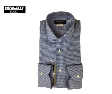 CAMICIA SLIM FIT - QUADRETTO