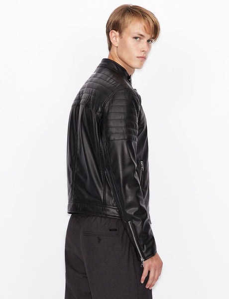 ARMANI EXCHANGE UOMO - BLOUSON JACKET - NERO