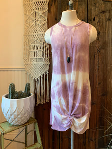 Tiedye Knotted Dress