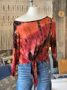 Fall Tiedye Tie-Up