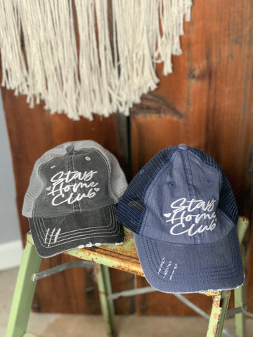Stay Home Club Hat