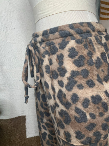 Animal Print Lounge Set (Joggers)