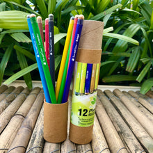 Load image into Gallery viewer, Jute Bag Collection: 1 Plantable Diary and 12 Plantable Pencil Combo in a Re-usable Stationary Box